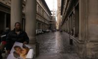 Irony at the Uffizi Gallery - Paul Martin