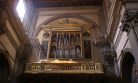 Organ Loft at Fraternita Monastiche di Gerusalemme - Paul Martin