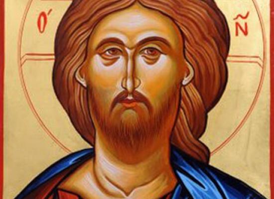 """Christ Pantocraotor.  Greek for """"Ruler of All."""""""