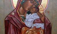 Theotokos (The Mother of God)  Eleusa (Merciful)-