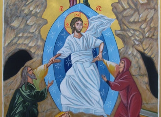 The icon for Holy Saturday