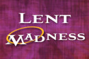 2016 Lent Madness Bracket Released