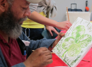 Houston's Homeless Tap Their Artistic Talents