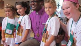 Bishop Tengatenga Visit
