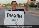 Grace Steps Out with Coffee, Donuts and Prayer