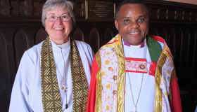 Tanzanian Archbishop Visits Trinity, Galveston