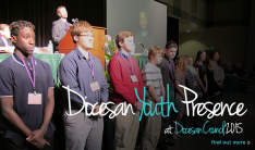 Diocesan Youth Presence (DYP) at Diocesan Council