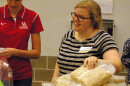 Young Adults Come Together For Service Day At Houston Food Bank