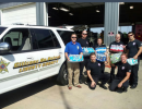 Community Effort Provides Drinking Water to Firefighters