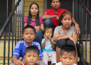 Burmese Family Arrives Exhausted, Full of Hope