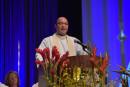 Council Worship Features Trinity Vicar, Honors Treasurer