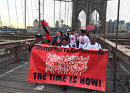 Interfaith marchers trek 200 miles to support farmworkers