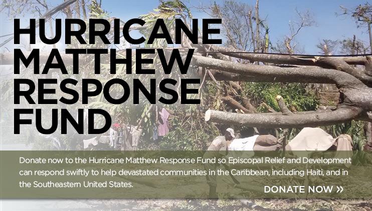 Hurricane Matthew Response Fund