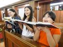 Coro de niños destacado por mejorar el rendimiento académico