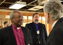 Presiding Bishop tours Houston-area congregations, offers support in aftermath of Hurricane Harvey