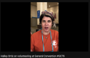 Halley Ortiz on volunteering at General Convention #GC79
