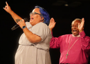 Sandra Montes Excites General Convention with Testimony, Singing Voice