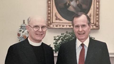 Abilene Man, a Former Episcopal Bishop, Calls Bush