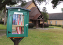 St. John's, Carthage opens a 'Little Free Library'