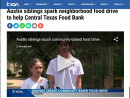 Middle School Student Creates Community Food Drive
