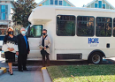 Moody Neurorehabilitation Institute at Galveston Donates a Transport Bus to St. Vincent House
