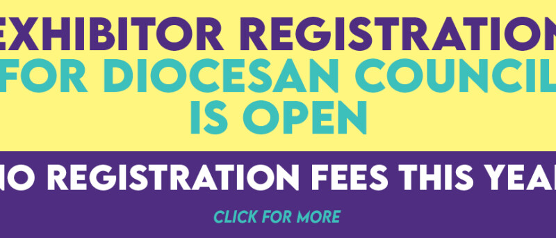 Exhibitor Registration for Diocesan Council is Open